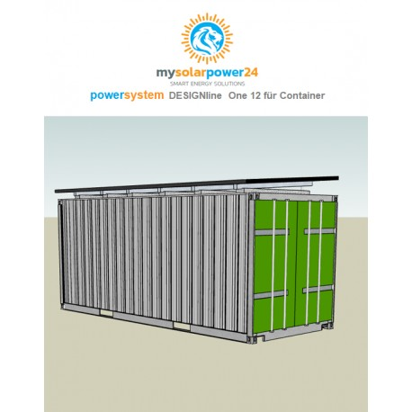 PowerSystem On 12 Komplett-Bausatz für 20ft Container
