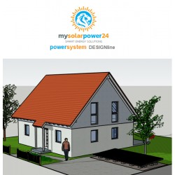 PV-PowerSystem DESIGNline Komplett-Bausatz für den Garten