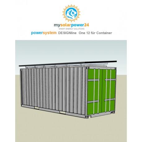PowerSystem On 12 Komplett-Bausatz für 20ft Container