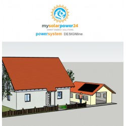 PEO PowerSystem Komplett-Bausatz für Ziegeldächer