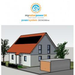 PowerSystem Komplett-Bausatz für Ziegeldächer