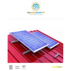 PV PowerSystem DESIGNline Komplett-Bausatz für Carport mit Trapezblechdach