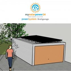 PV PowerSystem DESIGNline Komplett-Bausatz für Garagen