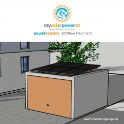Powersystem ECOline Komplett-Bausatz für Garagen