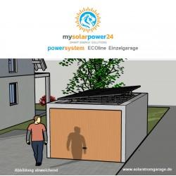 Energiesystem ECO Line Komplett-Bausatz für Garagen