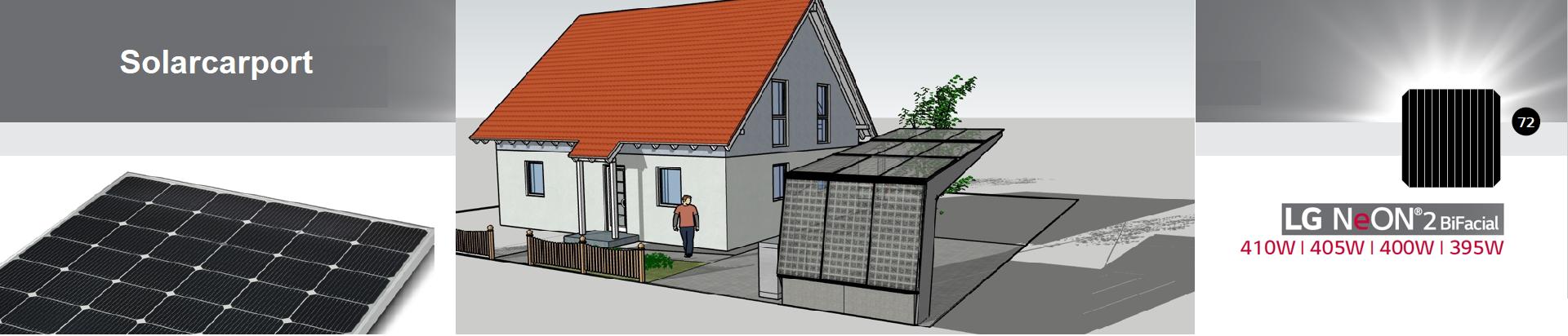Solarcarport für privat