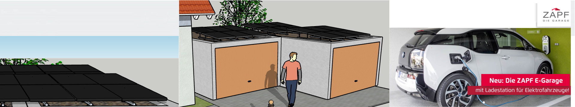 PEO PowerSystem für Zapf E-Garage mit Anbau & Ladestation