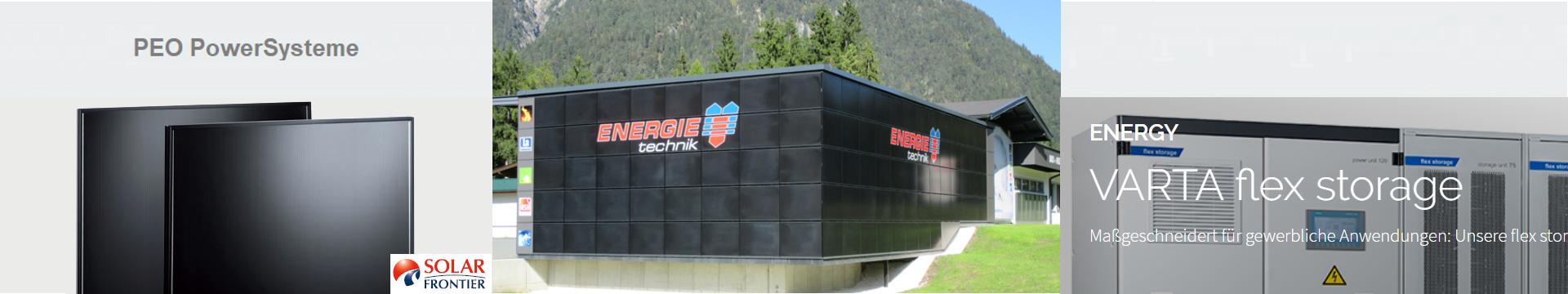 PowerSystem für Fassaden & gewerbliche Stromspeicher