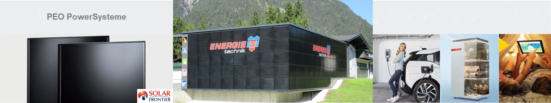 PowerSystem HOMEline für Fassaden