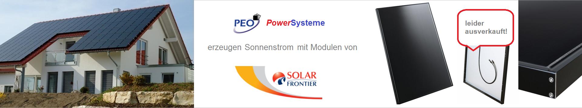 PowerSystem HOMEline & DESIGNline Komplett-Bausätze für Häuser