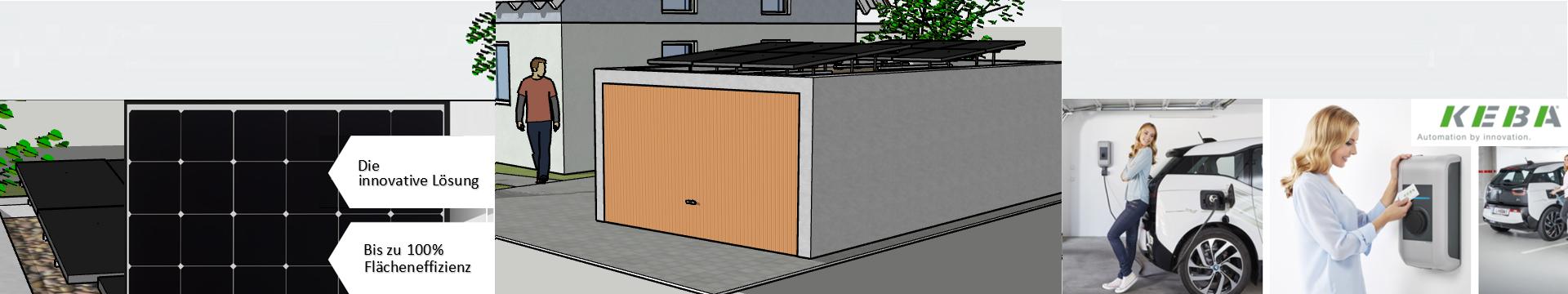 Powersystem für Breitraumgarage mit KEBA Wallbox