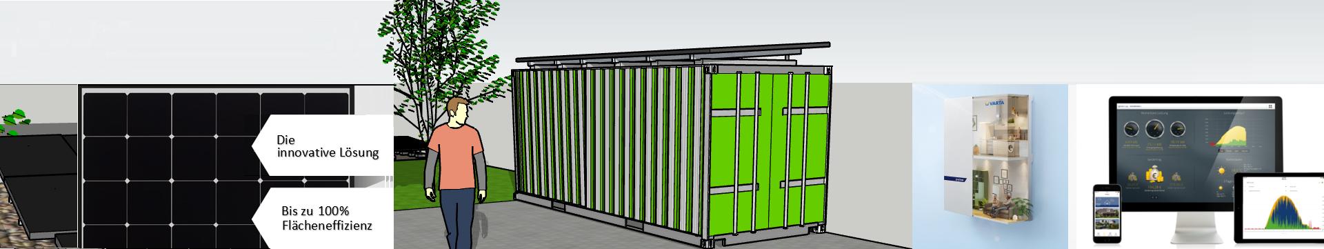 Powersystem für Schiffscontainer mit VARTA Stromspeicher und Solar-Log